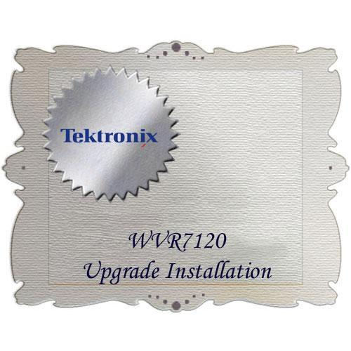 Tektronix WVR7120 Upgrade Installation WVR712UP IF