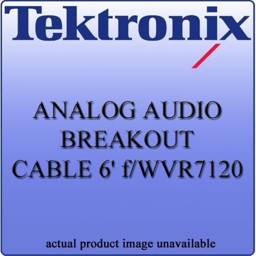 Tektronix WVR712062 Analog Audio Breakout Cable WVR712062
