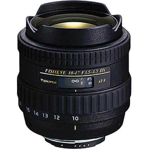 Tokina 10-17mm f/3.5-4.5 AT-X 107 AF DX Fisheye Lens for Canon