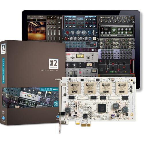 Universal Audio UAD-2 Quad - PCIe DSP Card UAD-2 QUAD