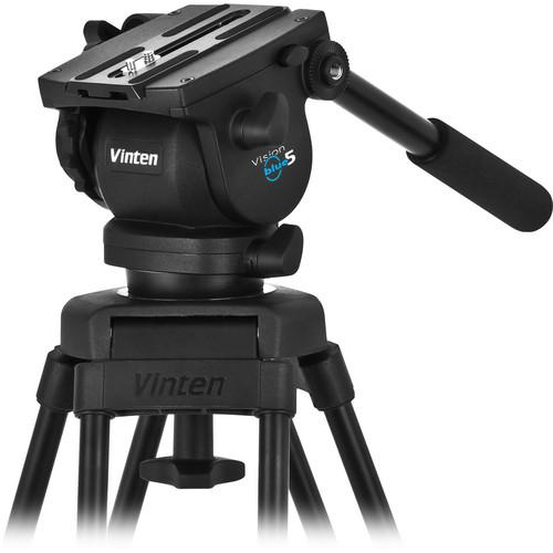 Vinten V5AS-CP1F Vision Pozi-Loc Carbon Fiber Tripod V5AS-CP1F