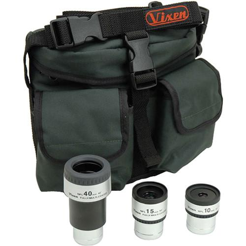Vixen Optics Plossl Eyepiece Package - 10mm, 15mm, & 39200