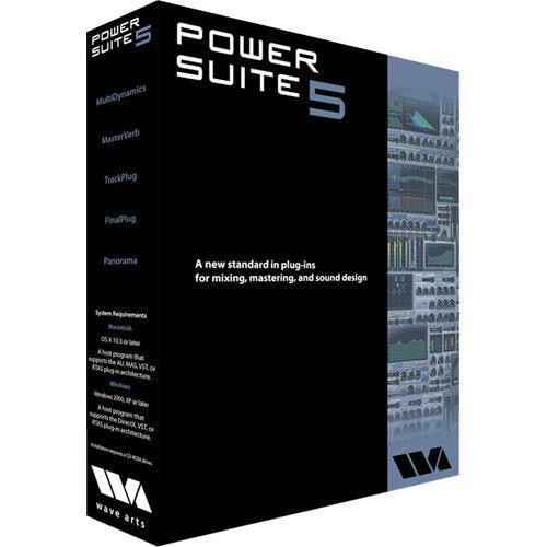 Wave Arts Power Suite 5 Mixing & Mastering Plug-in 11-33003