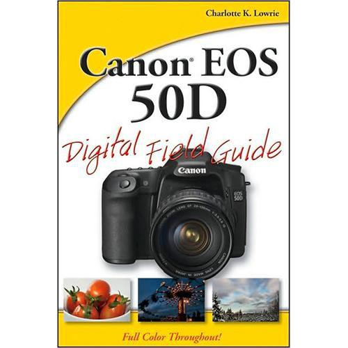 Wiley Publications Book: Canon 50D Digital Field 9780470455593