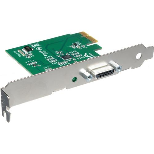 AJA IOCARD-X1 1-Lane PCIe Card to PCIe Cable Interface IOCARD-X1