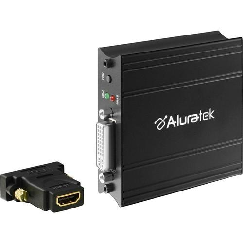 Aluratek AVH100F VGA to HDMI Adapter with Audio AVH100F