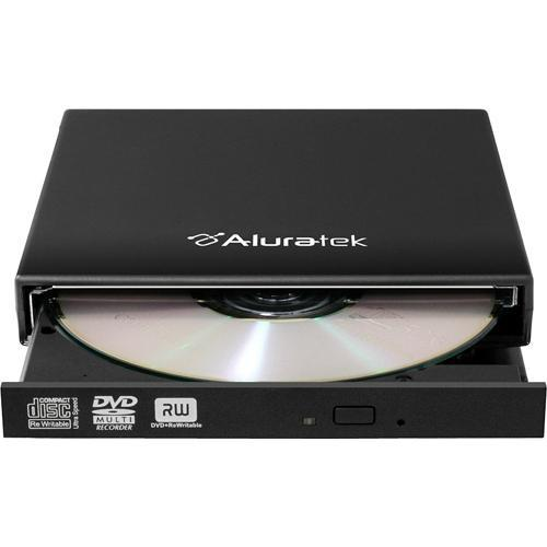 Aluratek USB 2.0 External Slim Multi-Format 8X DVD AEOD100F