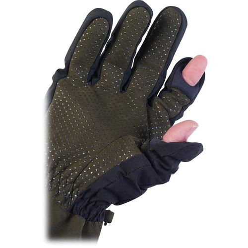 AquaTech  Sensory Gloves (Large, Black/Moss) 1752