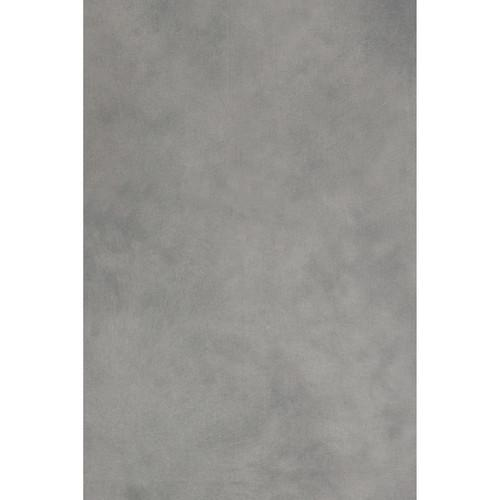 Backdrop Alley Hand Painted Muslin Backdrop BAHP12WHLGRY