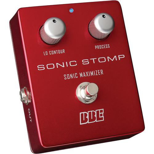 BBE Sound Sonic Stomp Sonic Maximizer Stomp-Box Pedal SONIC