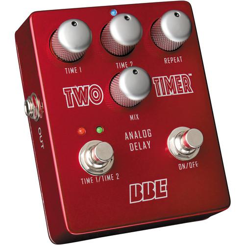 BBE Sound Two Timer Dual Mode Analog Delay Pedal TWO TIMER