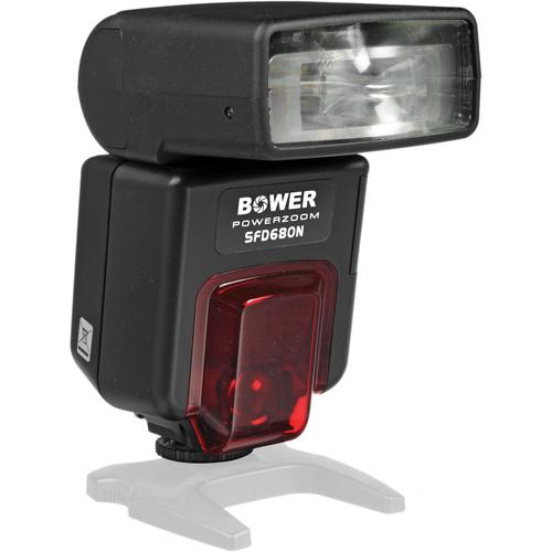 Bower SFD680 Power Zoom Digital TTL Flash for Nikon SFD680N