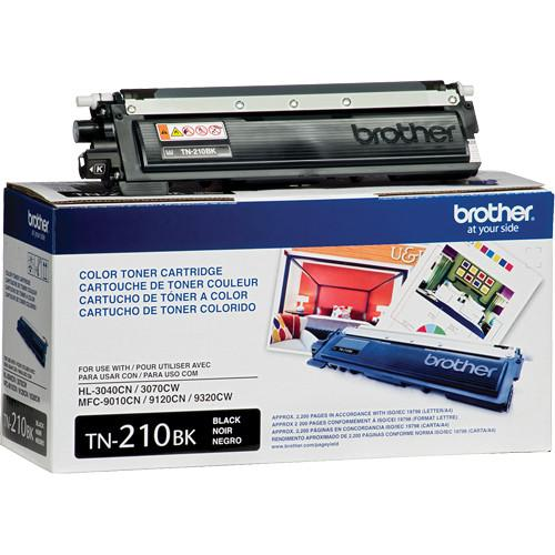 Brother  TN210BK Black Toner Cartridge TN210BK