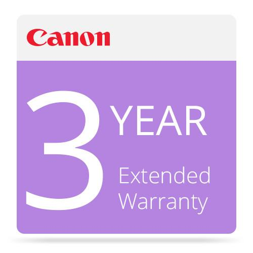 Canon  3-Year Extended Warranty 6463B007