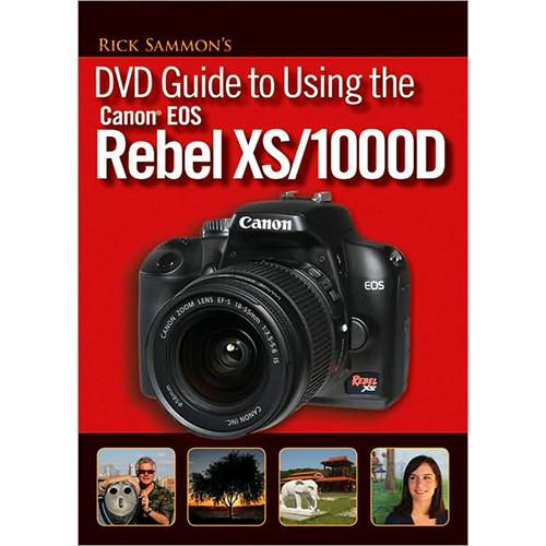 Canon DVD: EOS Rebel XS Guide with Rick Sammon 3834B001