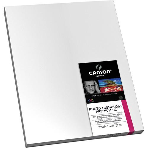 Canson Infinity 2282 Photo HighGloss Premium RC Paper 200002282