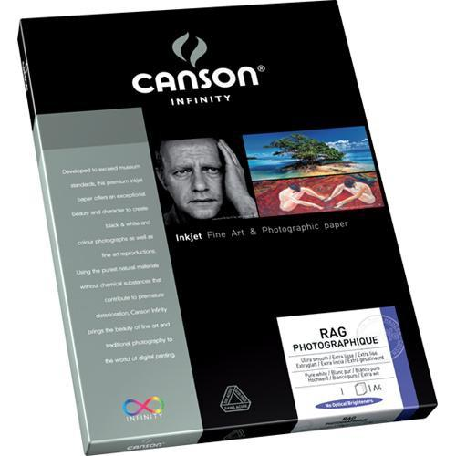 Canson Infinity Rag Photographique - 8.5 x 11