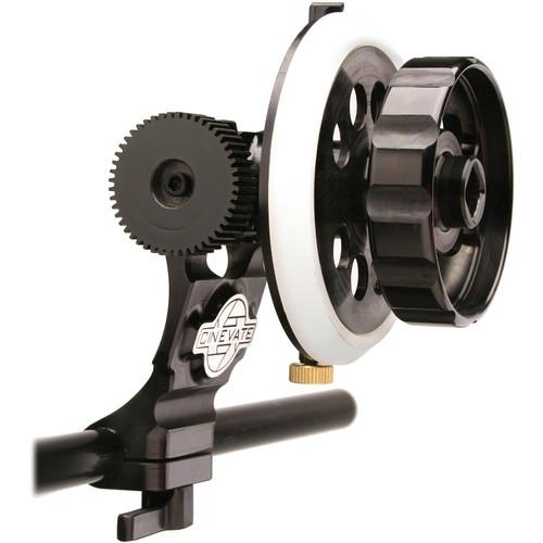 Cinevate Inc Durus Follow Focus w/19mm Clamp CIFFAS0019MM