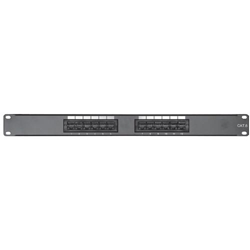 Comprehensive PP12P6 12-Port CAT-6 Patch Panel PP12P6