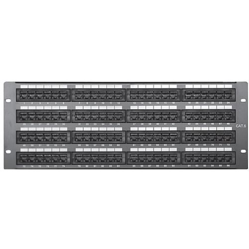 Comprehensive PP96P6 96-Port CAT-6 Patch Panel PP96P6