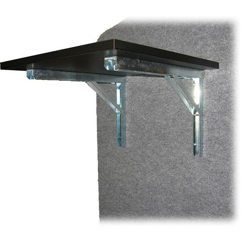 Da-Lite  Laminate Flip-Up Side Shelf 97189LAM