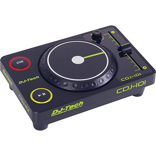 DJ-Tech CDJ-101 Mini USB CD-Style Controller CDJ-101