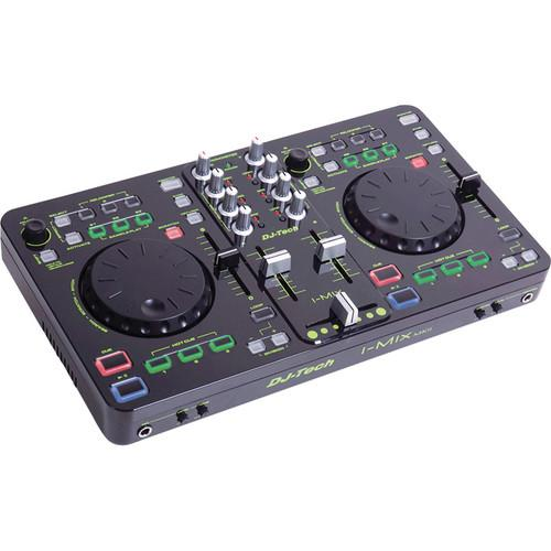 DJ-Tech i-Mix MKII DJ Control Surface and Software I-MIX MKII