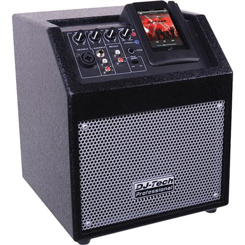 DJ-Tech iCube 50 Powered PA Speaker for iPod ICUBE 50