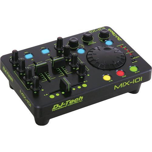 DJ-Tech Mix-101 Mini USB Workstation Controller MIX-101