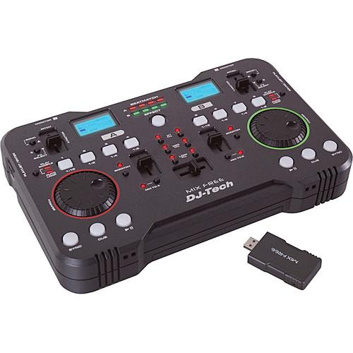 DJ-Tech Mix Free - Wireless USB DJ Controller MIX FREE