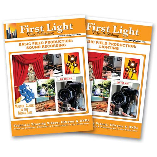First Light Video DVD: Basic Field Production F806DVD