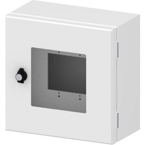 FSR Outdoor Wall Box with Window Cover (White) OWB-CP1-W-WHT