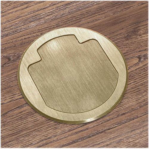 FSR T3-AC2-BRS Table Box (Round Brass Cover) T3-AC2-BRS
