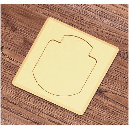 FSR T3-AC2-SQBRS Table Box (Square Brass Cover) T3-AC2-SQBRS
