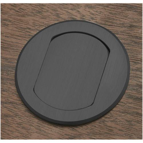 FSR T3-CAT5-BLK Table Box (Round Black Cover) T3-CAT5-BLK