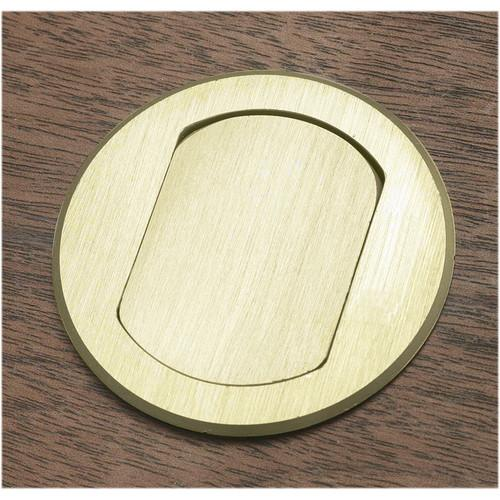 FSR T3-MJ5PIN-BRS Table Box (Round Brass Cover) T3-MJ5PIN-BRS