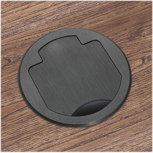 FSR T3-PC1-CP-BLK Table Box (Round Black Cover) T3-PC1-CP-BLK