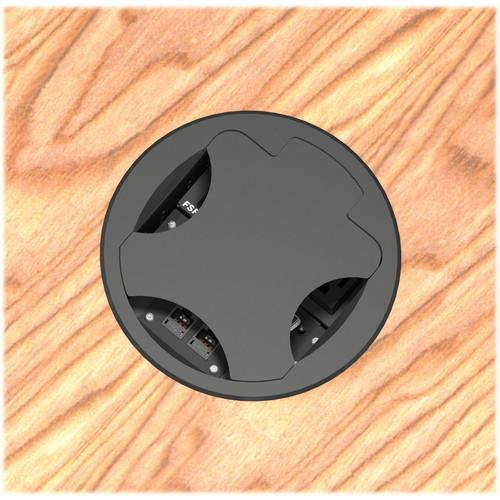 FSR  T6-BLK Table Box (Round Black Cover) T6-BLK