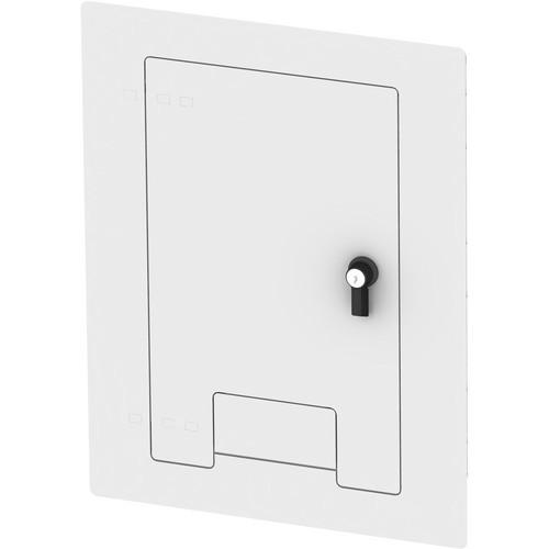 FSR WB-X1-CVR-WHT Flush-Mounted Locking Cover (White)