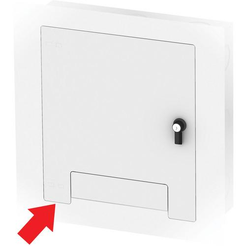 FSR WB-X2-WHT-C Flush-Mounted Locking Cover (White) WB-X2-WHT-C