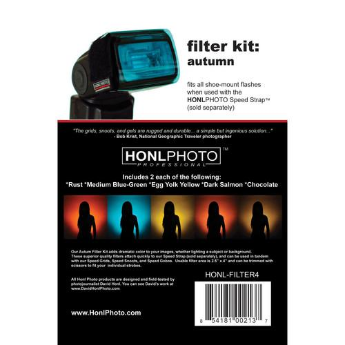 Honl Photo  Filter Kit: Autumn HONL-FILTER4