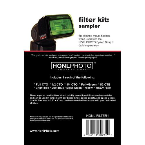 Honl Photo  Filter Kit: Sampler HONL-FILTER1