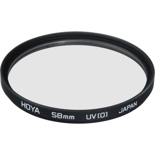 Hoya 58mm Ultraviolet UV(0) Haze Glass Filter B58UV