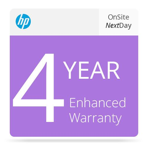 HP 4-Year Next Business Day Onsite Support UF036E