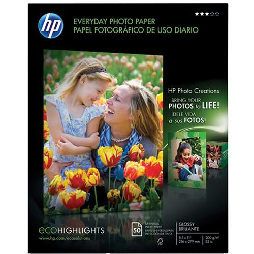 HP  Q8723A Everyday Gloss Photo Paper Q8723A