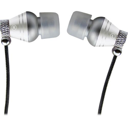 Ikey Audio ED-Q360 EarDrumz In-Ear Headphones (White)