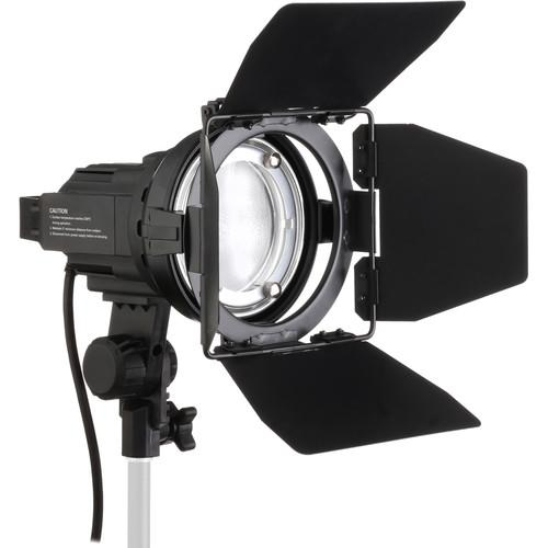 Impact Qualite 300 Focusing Flood 2 Light Soft Kit QL300-2KII
