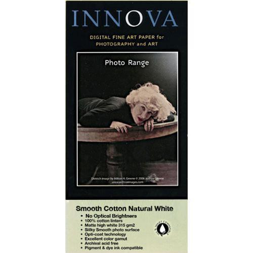 Innova Photo Smooth Cotton Natural White - 17 x 22