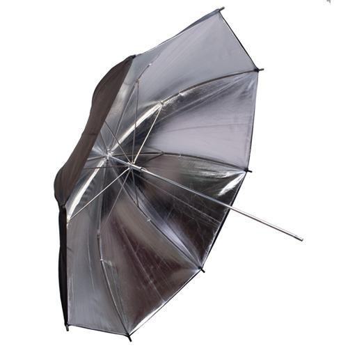 Interfit INT396 Silver/Black Backing Umbrella - 43