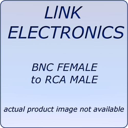 Link Electronics  L7505 BNC to RCA Adapter L7505